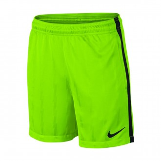 Pantalón corto  Nike Squad Niño Electric green-Black