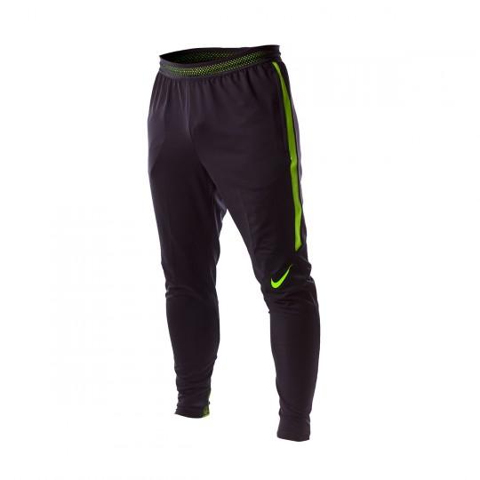Pantalon  Nike Dry Strike Black-Electric green
