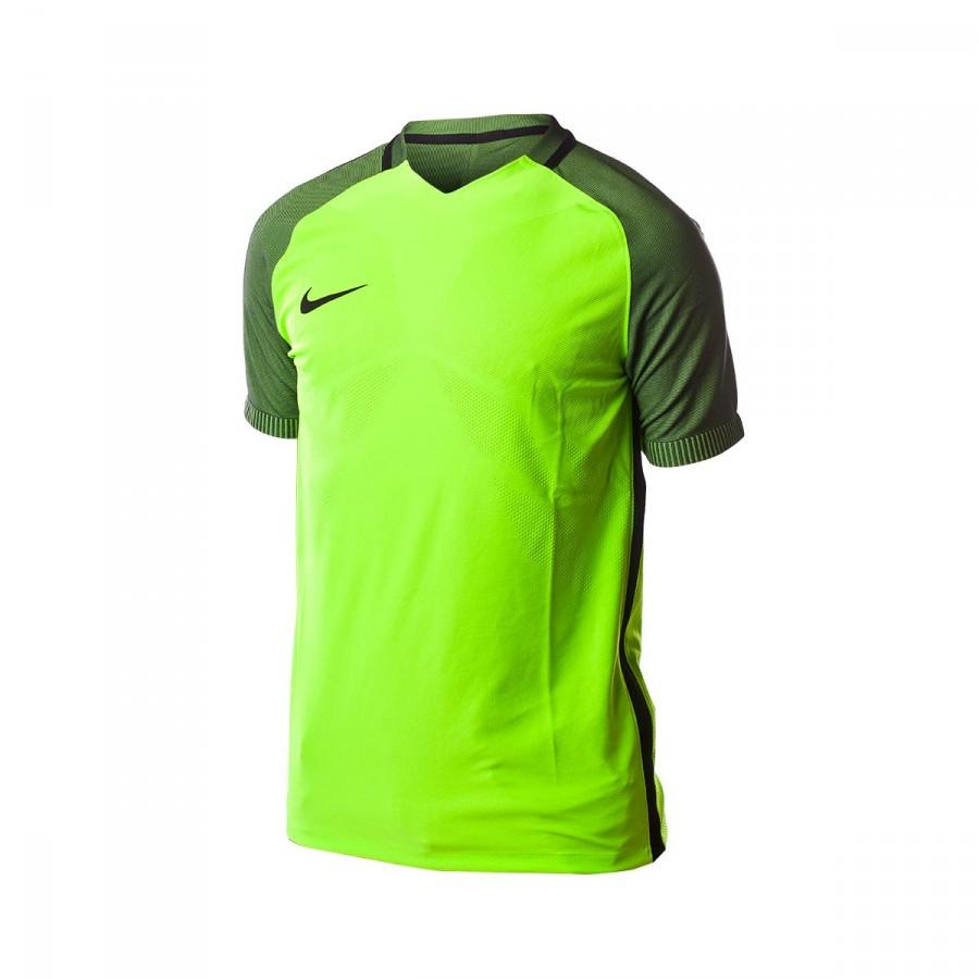 Camiseta Aeroswift Strike Football Electric green-Black