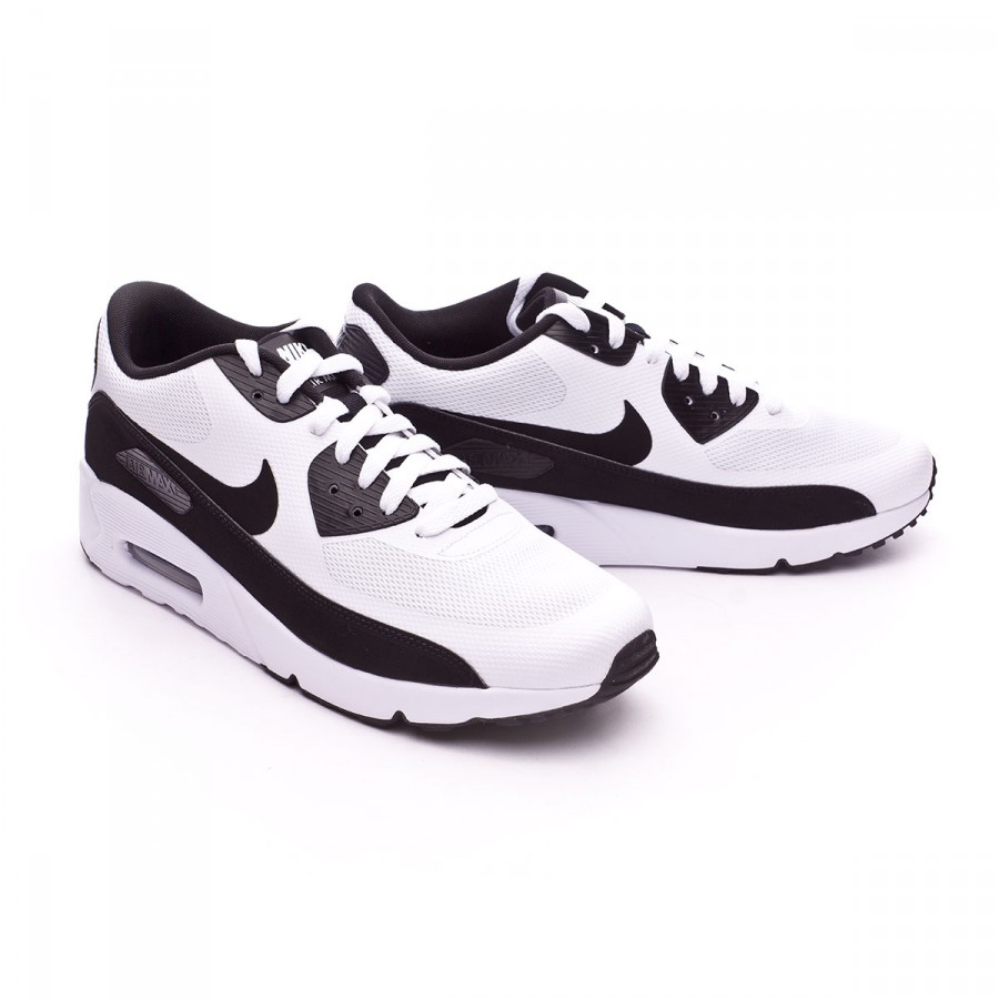 Nike Sportswear AIR MAX 90 ULTRA 2.0 ESSENTIAL - Zapatillas black QS4PlyaSM