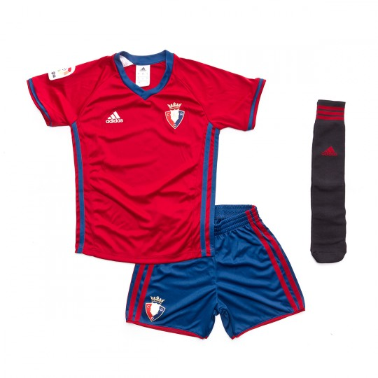 Conjunto  adidas jr Osasuna Home 2016-2017 Escalet-Blue