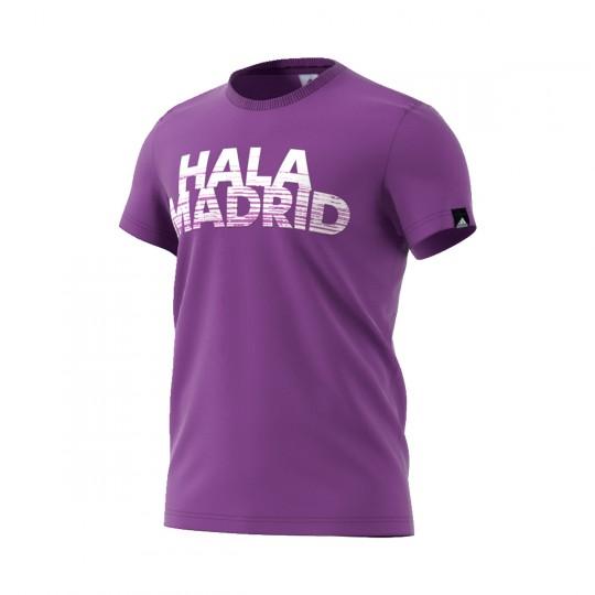 Camiseta  adidas Real Madrid GR Violeta