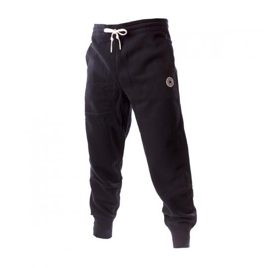Pantalón largo  Converse Core Rib Cuff Black