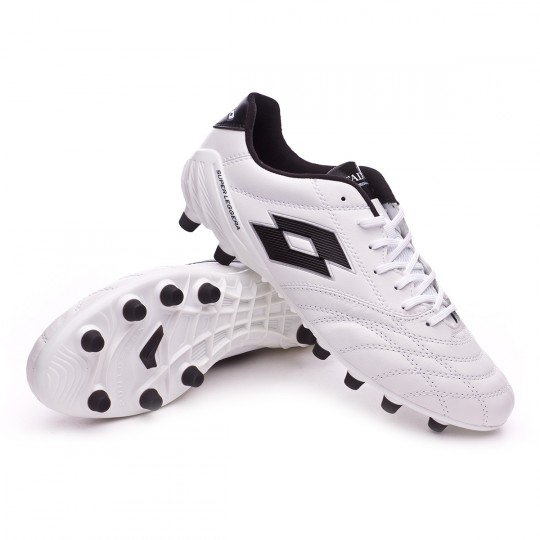 Bota  Lotto Stadio 100 FG White-Black