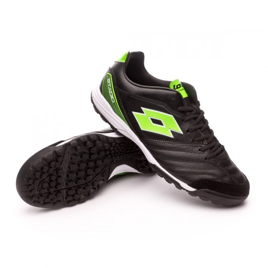 Zapatilla  Lotto Stadio 300 Turf Black-Mint