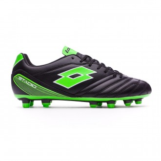 Chuteira  Lotto Stadio 700 FG Black-Mint