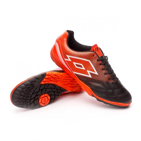 Chaussure  Lotto Spider 700 XIII Turf Black-Red