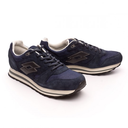 Zapatilla  Lotto Trainer IX Net Navy dark-Black