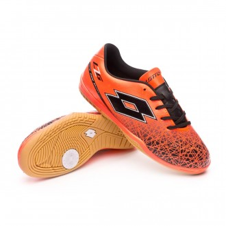 Sapatilha de Futsal  Lotto Jr Zhero Gravity VIII 700 ID Red-Black
