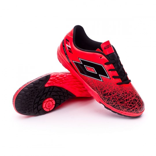 Zapatilla  Lotto jr Zhero Gravity VIII 700 Turf Red-Black