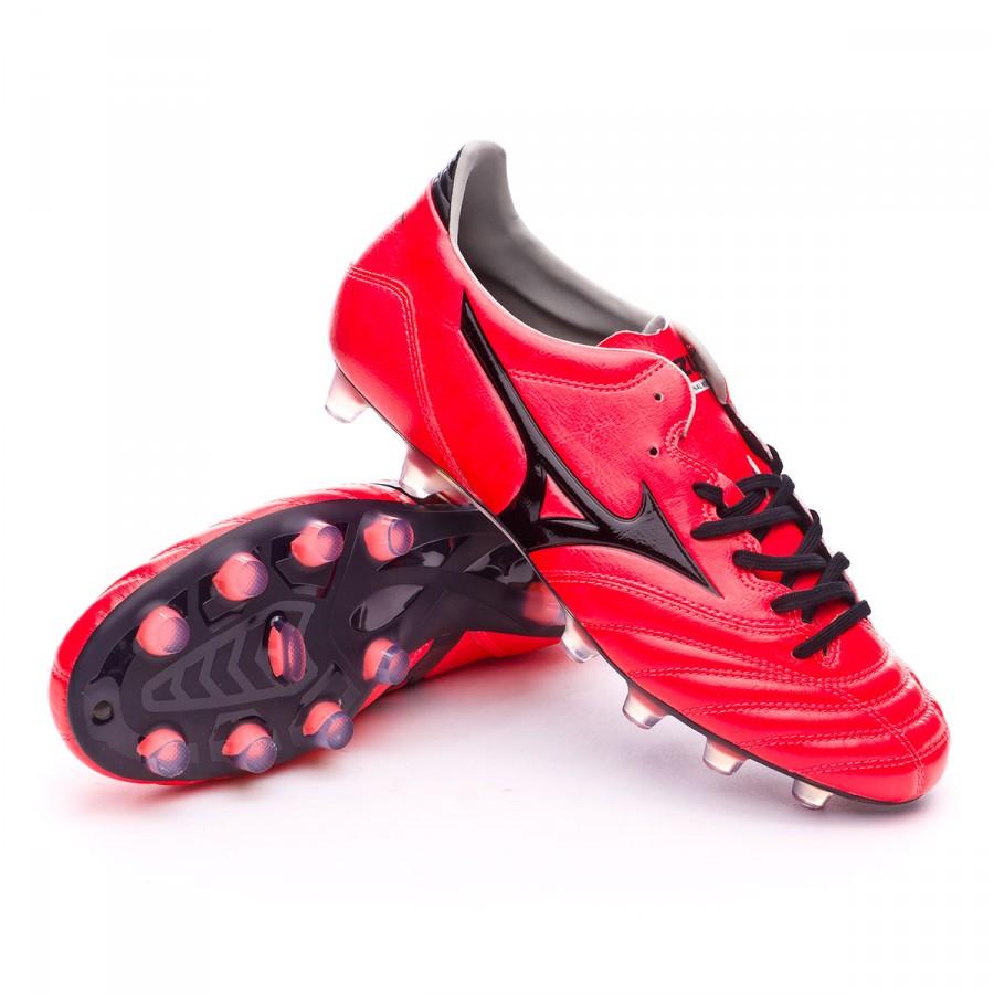 21e11dbe4 Football Boots Mizuno Morelia NEO KL MD Fiery coral-Black - Football ...