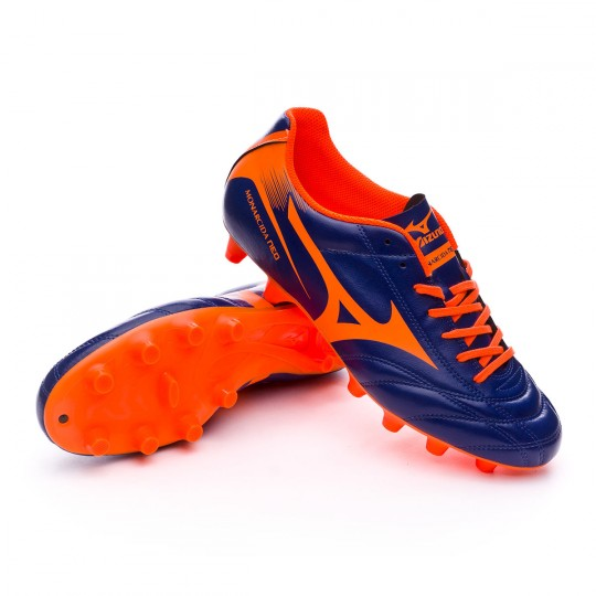 Chuteira  Mizuno Monarcida FS MD Blue-Orange
