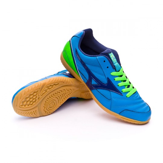 Chaussure de futsal  Mizuno Club 2 IN Diva blue-Blue depths