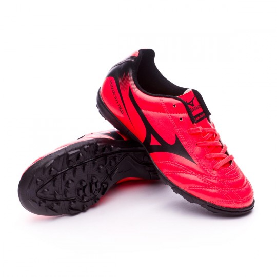 Sapatilha  Mizuno Jr Monarcida FS AS Fiery coral-Black