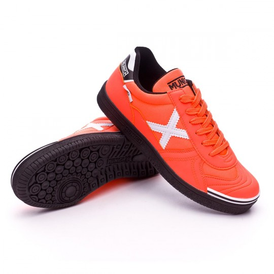 Chaussure de futsal  Munich jr G3 Orange