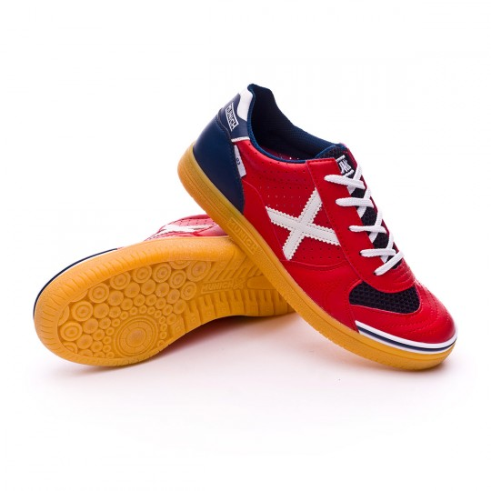 Boot  Munich jr G3 Profit Red-Blue