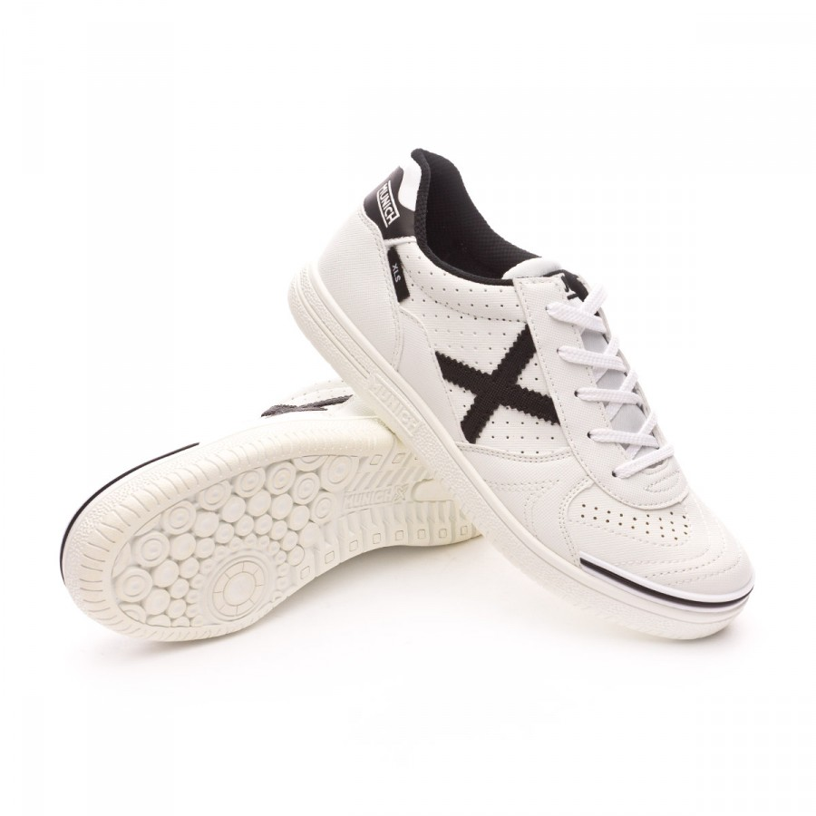 8d207e0cff2f8 Futsal Boot Munich Jr G3 Profit XLS White - Football store Fútbol ...