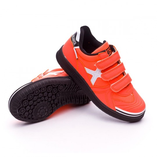 Chaussure de futsal  Munich jr G3 (V) Orange