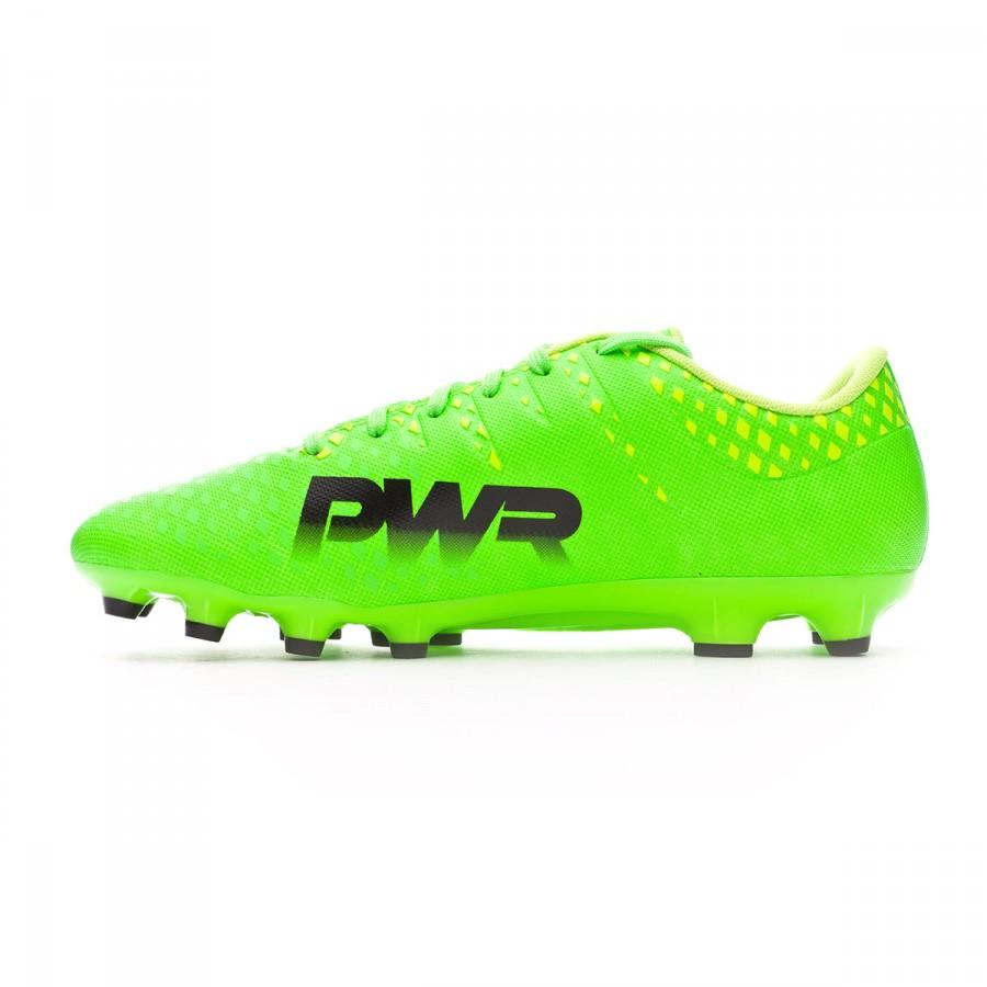 1421bc47b Football Boots Puma evoPOWER Vigor 3 AG Green gecko-Black-Safety yellow -  Football store Fútbol Emotion