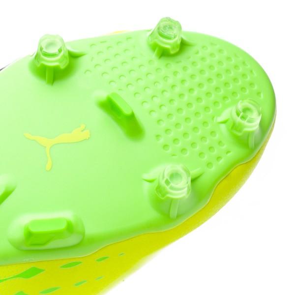 a99a61c4dff Football Boots Puma evoSPEED 17 SL S FG Safety yellow-Black-Green gecko - Football  store Fútbol Emotion