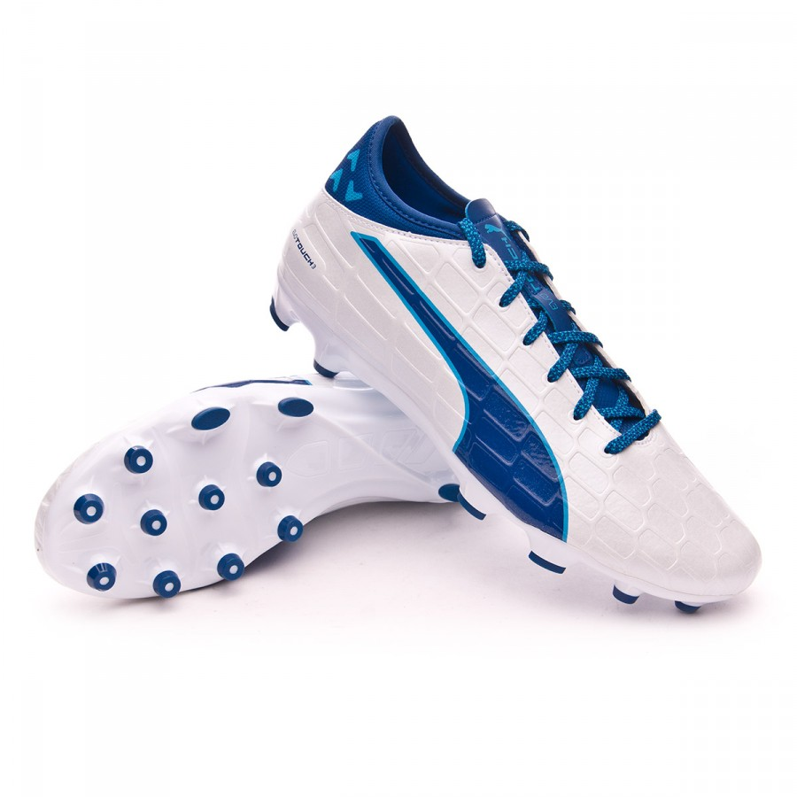 Boot Puma evoTOUCH 3 AG White-True blue - Soloporteros es ahora ... 6905251ca3