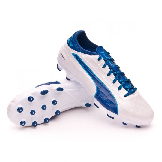 Chaussure  Puma jr evoTOUCH 3 AG White-True blue
