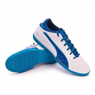 Zapatilla  Puma evoTOUCH 3 IT Niño White-Blue-Blue