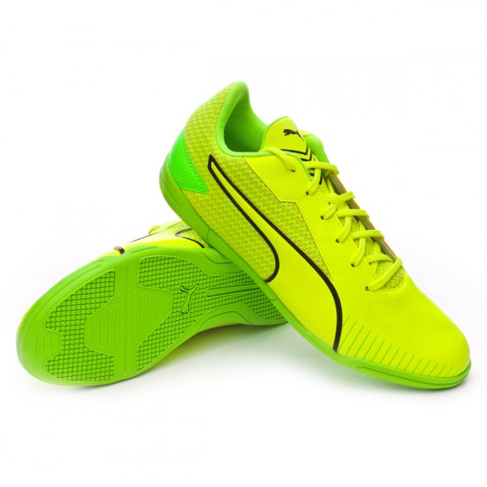 Chaussure de futsal  Puma 365 CT Yellow-Black-Green