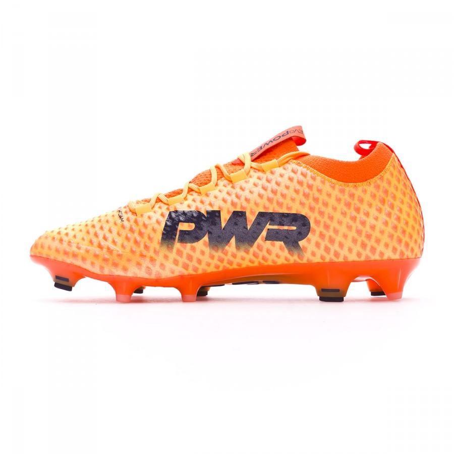 b8f82af0 Football Boots Puma evoPOWER Vigor 3D 1 FG Ultra yellow-Peacoat-Orange  clown fish - Football store Fútbol Emotion