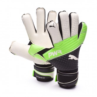 Luvas  Puma evoPOWER Grip 1.3 RC Green gecko-Black-White