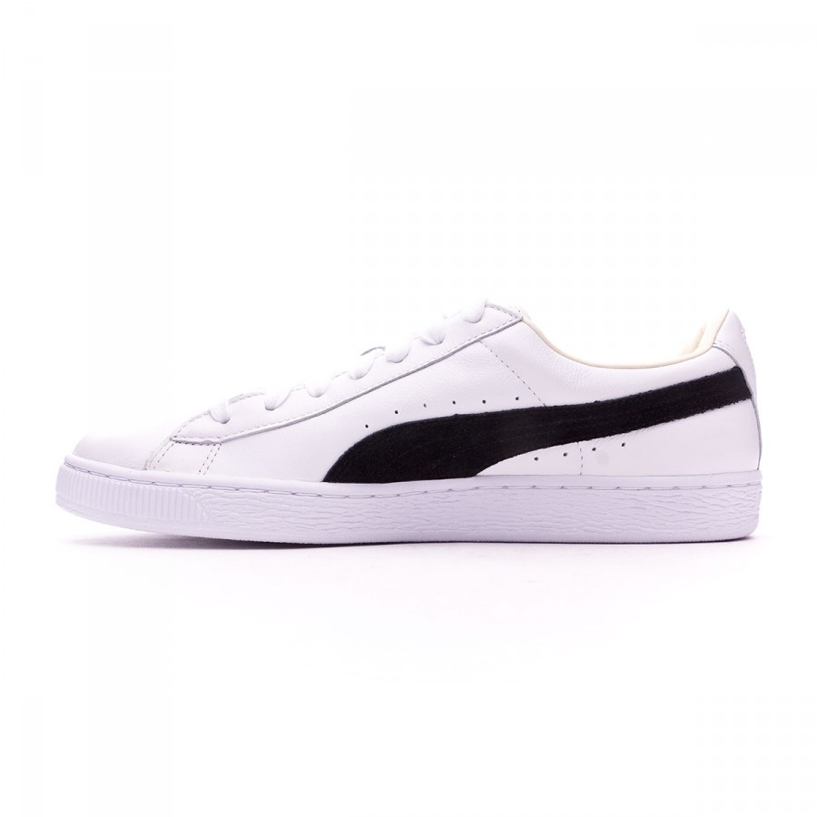Puma BASKET CLASSIC - Zapatillas white/black OrRjZMZEV