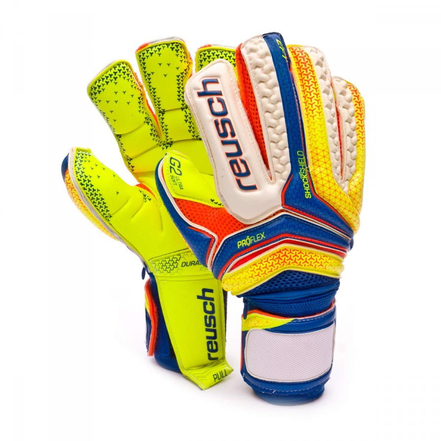 Glove Reusch Serathor Supreme G2 Ortho Tec Dazzling Blue