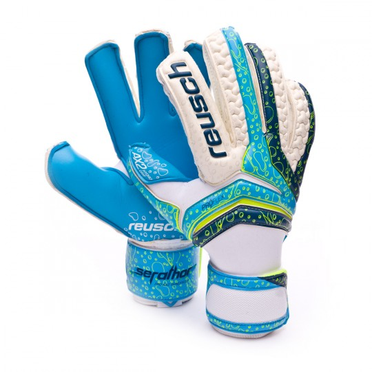 Guanto  Reusch Serathor Pro AX2 Windproof Aqua-Navy blue