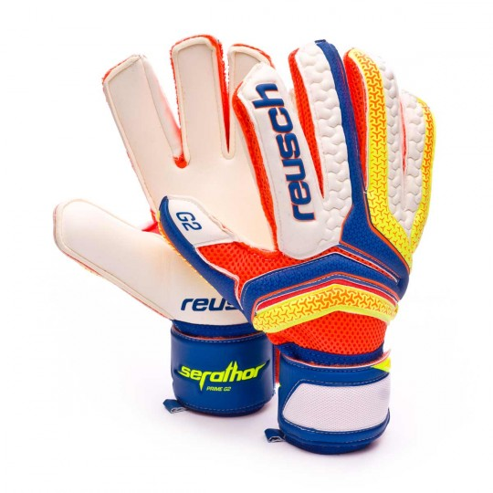 Guanto  Reusch Serathor Prime G2 Dazzling blue-Safety yellow