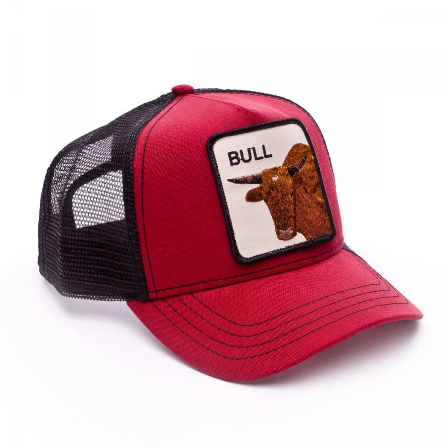 Cap Goorin Bros Bull Red - Football store Fútbol Emotion f2b21569e56