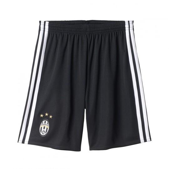 Pantalón corto  adidas jr Juventus Home 2016-2017 Black