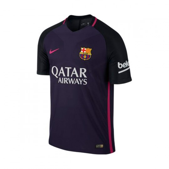 Camiseta  Nike FC Barcelona SS Away Vapor Match 2016-2017 Purple-Vivid pink