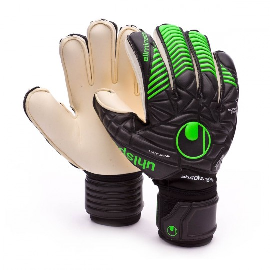Guante  Uhlsport Eliminator Absolutgrip Bionik+ Black-Fluor green