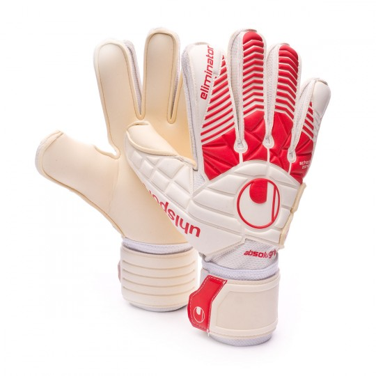 Guante  Uhlsport Eliminator Absolutgrip White-Red