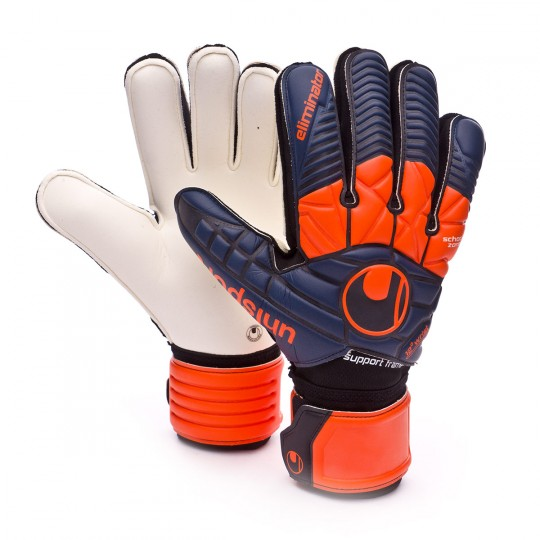 Guante  Uhlsport Eliminator Supersoft SF Navy-Shock red-White