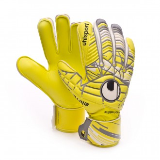Glove  Uhlsport Eliminator Soft SF Lite fluor yellow-Griffin grey-White