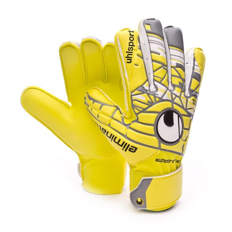 d2f2e178208 Guante de portero Uhlsport Eliminator Soft SF Niño Lite fluor yellow ...