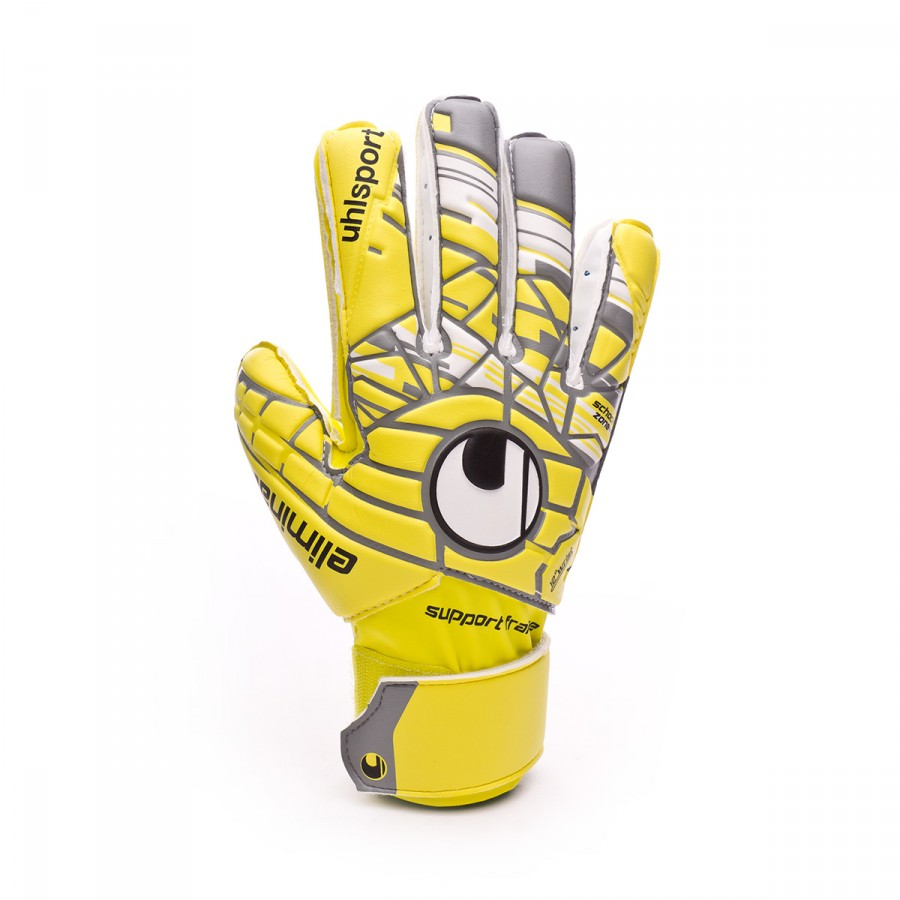 fe5567b4ad8 Guante de portero Uhlsport Eliminator Soft SF Niño Lite fluor  yellow-Griffin grey-White - Tienda de fútbol Fútbol Emotion