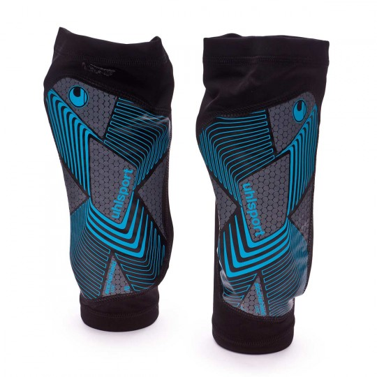 Espinillera  Uhlsport Sock Shield Lite 2.0 Cyan-Black