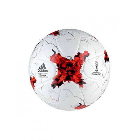 Balón  adidas ConfedJ350 White-Rojo