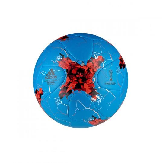 Bola de Futebol  adidas Confed Prax Blue-Bright red-Black