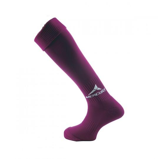 Chaussettes   Mercury Team Violet-Blanc