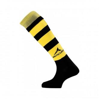 Football Socks  Mercury Classic Black-Yellow