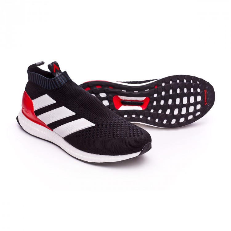 57a9e4ccc2e0f Trainers adidas Ace 17+ Purecontrol Ultra Boost Black-White-Red ...