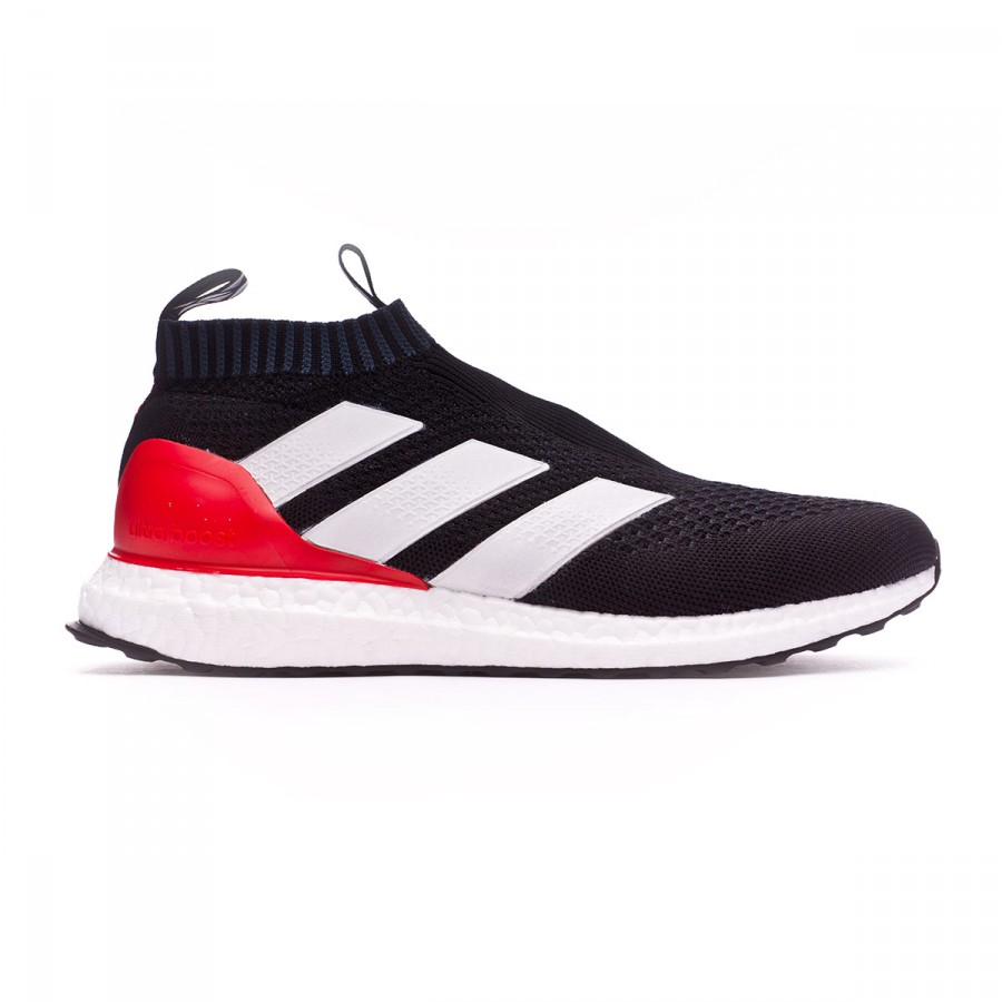 fa2b9e5ae3b5 Trainers adidas Ace 17+ Purecontrol Ultra Boost Black-White-Red - Football  store Fútbol Emotion